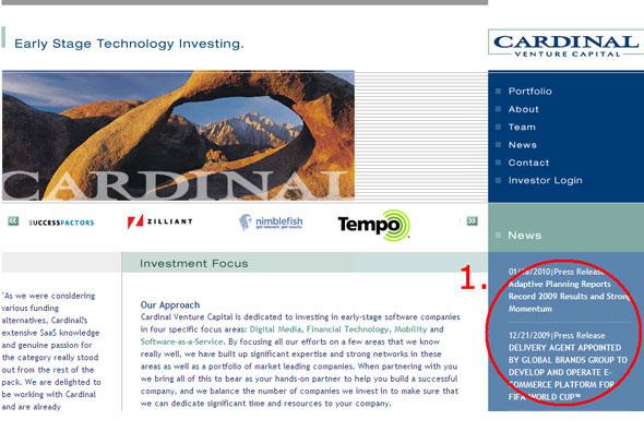 Cardinal Venture Capital News