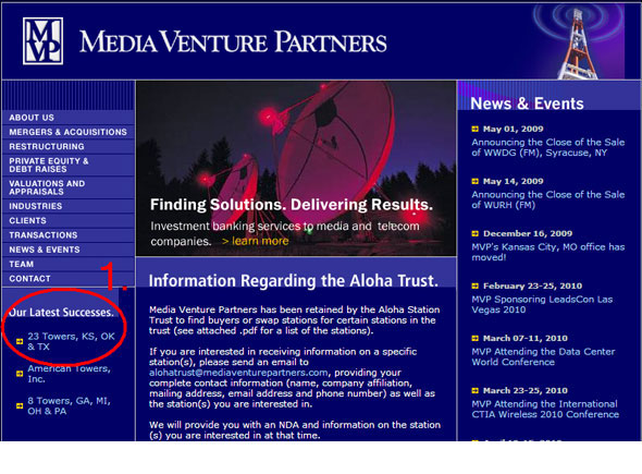 Media Venture Partners Successes
