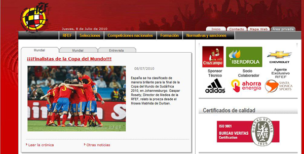 Spain Official Website