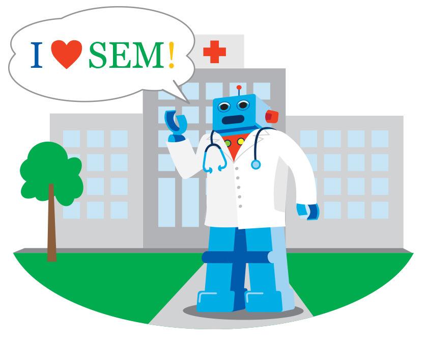 I Love SEM for Clinical Trial Recruitment